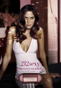 212, reconocida fragancia de Carolina Herrera